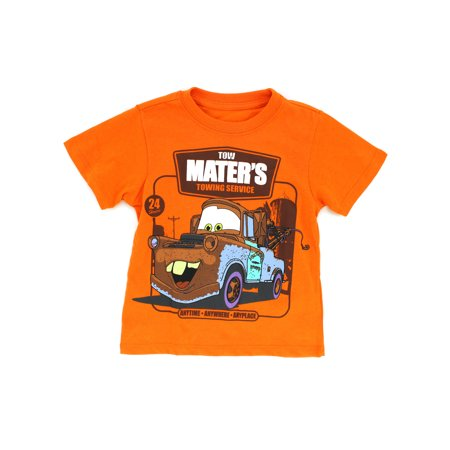 Disney Cars Toddler Boys Short Sleeve Tee XDC6921F