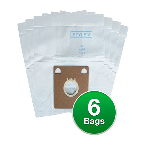 Replacement Vacuum Bags for Eureka 154SW / 52358A Type-Micro (2 Pack)