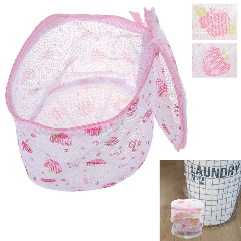 2 Pack Washing Bra Laundry Bags Protector Delicate Underwear Lingerie Saver Mesh