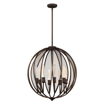 Artcraft Linden AC10908 Chandelier Filled with slender, candle lights, the Artcraft Linden AC10908 Chandelier offers loads of illumination for your dining room, kitchen, entryway and more. This bronze finished piece boasts a charming cage design that is accented by metal mesh panels. It comes equipped with height-adjustable rods for a custom fit. Artcraft Since 1955, Artcraft Lighting has operated on the belief that beautiful lighting should be as much about the experience as the light fixtures themselves. And to create that meaningful experience, Artcraft Lighting strives to provide lighting products that are designed to meet your decor, lifestyle, and budget needs - all while ensuring top quality and impeccable customer service. With Artcraft Lighting products, you can reap the benefits of more than 60 years of lighting experience.