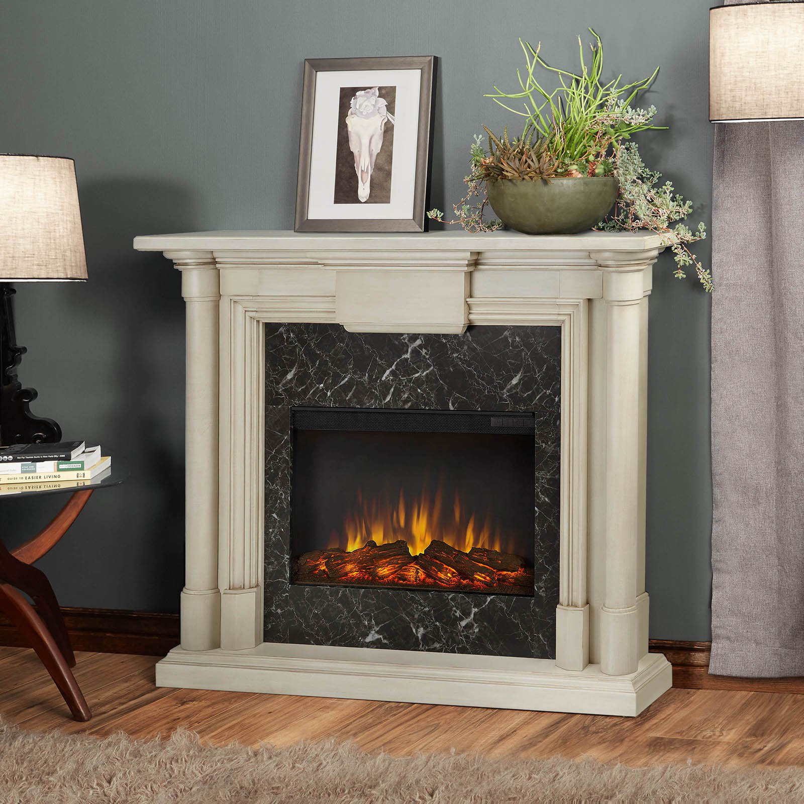 Real Flame Maxwell Electric Fireplace