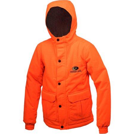 Mossy Oak Blaze Orange Youth Insulated Parka thumbnail