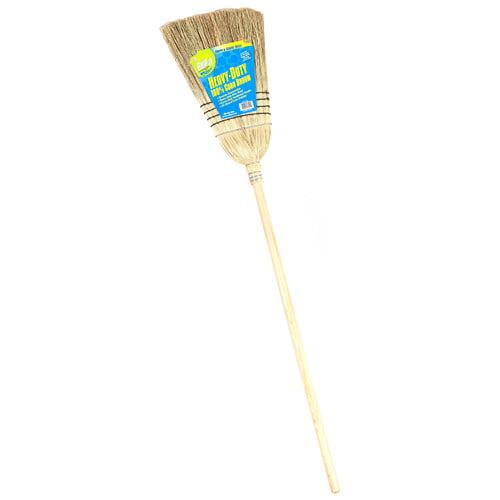 Laitner Brush Company Jumbo Heavy-Duty 100% Corn Broom by Laitner Brush Company