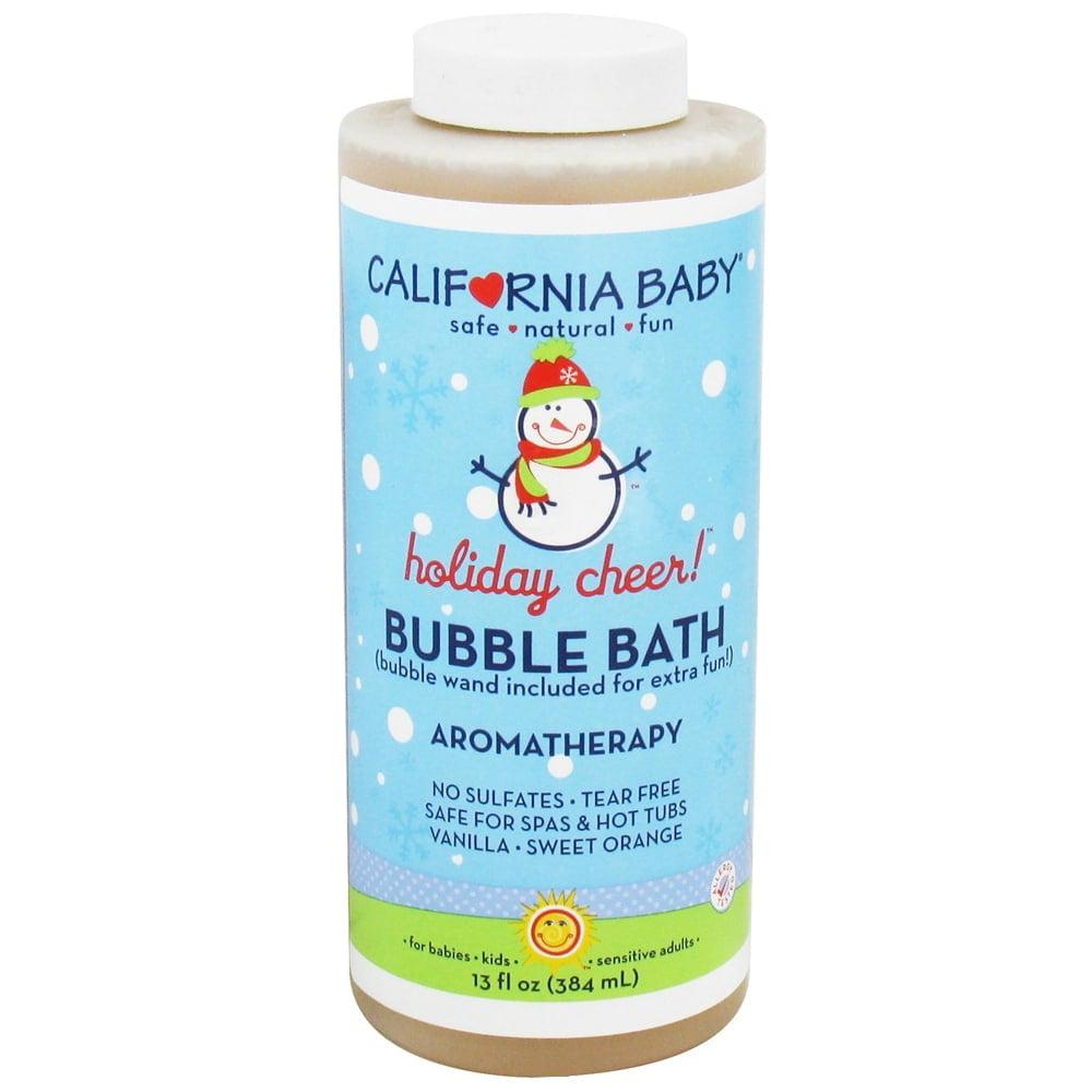 California Baby Bubble Bath, Holiday Cheer, 13 Fl Oz