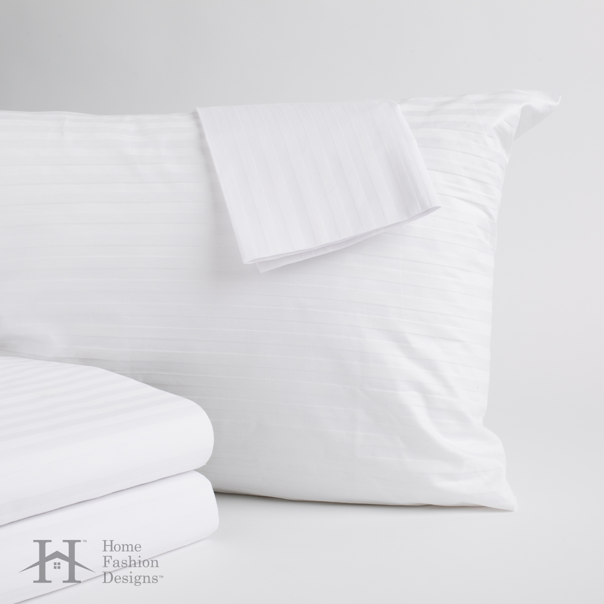 4-Pack 100% Cotton 400 Thread Count Allergy Pillow Protectors By Home Fashion Designs by Home Fashion Designs