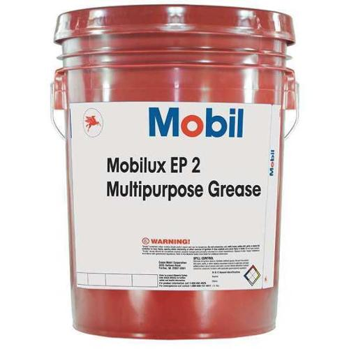 MOBIL 105763 Grease, Mobilux EP 2, 5 Gal, NLGI Gr2