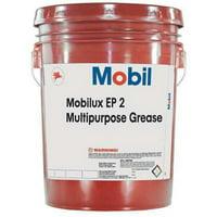 MOBIL 105763 Grease, Mobilux EP 2, 5 Gal, NLGI Gr2