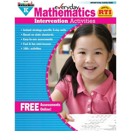 Eia: Mathematics Intervention Activities Grade K (Paperback)