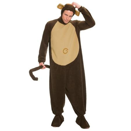 Plus Size Sock Monkey Costume (Plus Size Monkey Costume)