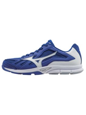 half off e2ed7 9771a Product Image Mizuno Players Training Shoes Royal White Size 14