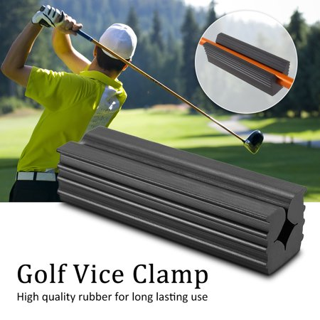 Rubber Golf Vice Clamp Professional Vice Jaws Club Repair Vice Clamp Golf Club Shafts Regrip Premium Wedging - High Shaft Wedge