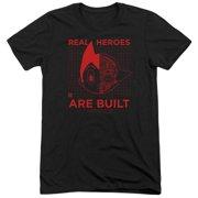 Astro Boy Real Hero Mens Tri-Blend Short Sleeve Shirt