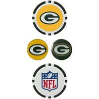 Green Bay Packers Ball Marker Set - No Size