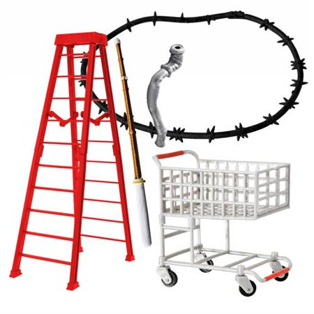 - ULTIMATE Five Piece Shopping Cart Deal Playset for WWE Wrestling Action Figures