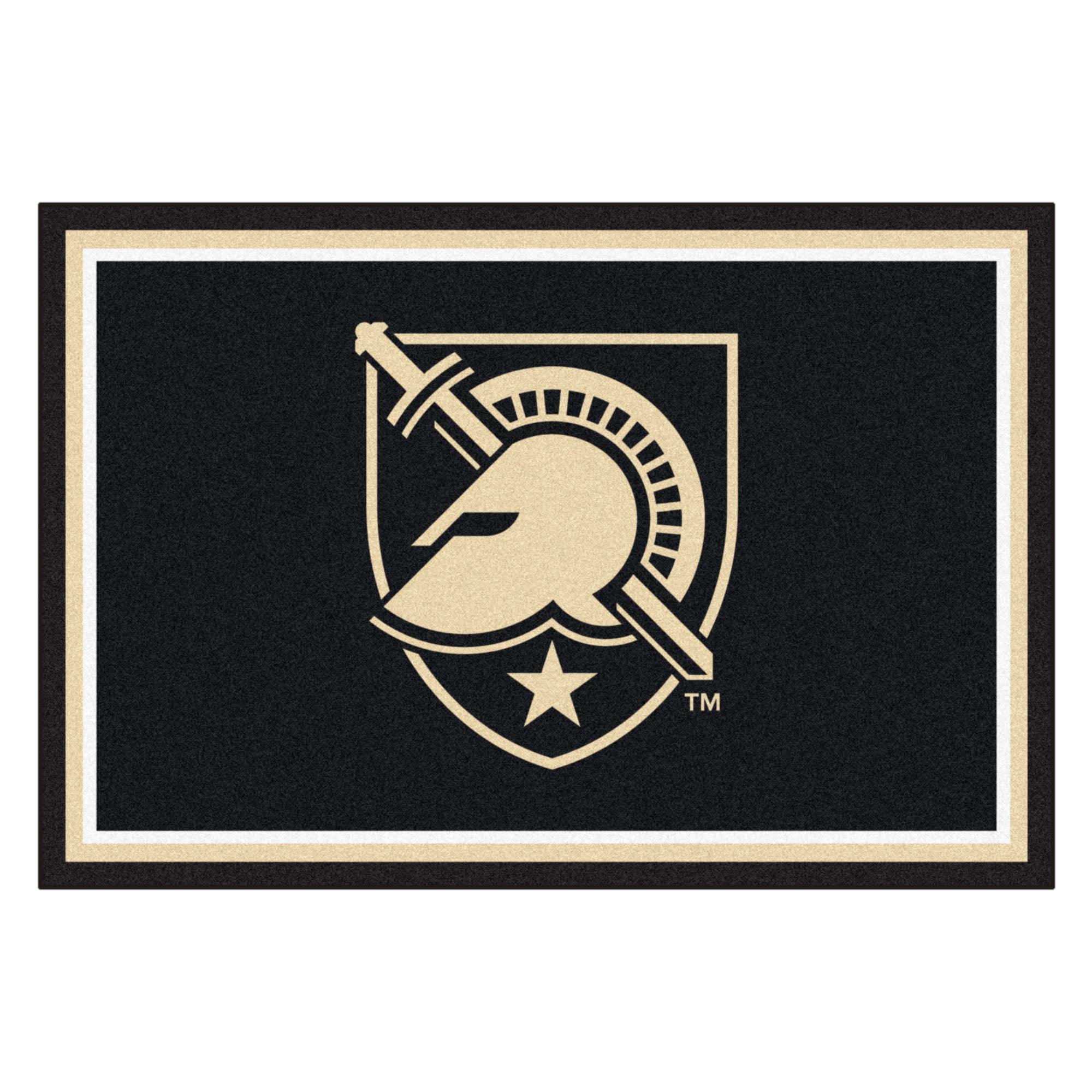 U.S. Military Academy 5 x 8 Foot Plush Non-Skid Area Rug