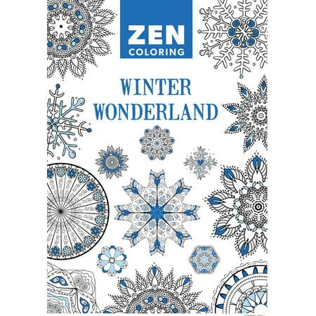Winter Coloring Sheet (Zen Coloring - Winter)