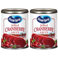 (2 pack) Ocean Spray Jellied Cranberry Sauce, 14 oz
