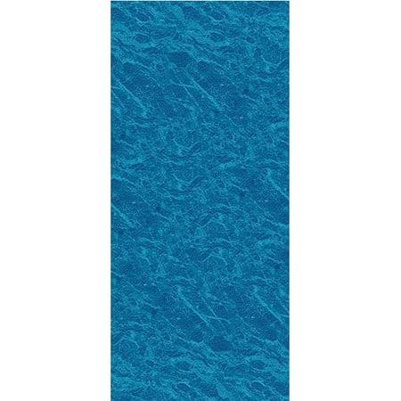 Diamond 25 Gauge Unibead Liner (24-Foot Round Pacific Ice Unibead Above Ground Swimming Pool Liner - 52-Inch Wall Height - 25 Gauge)