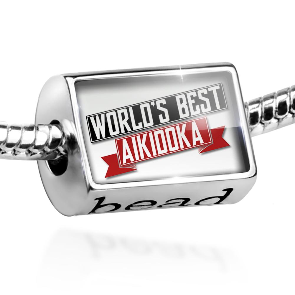 Bead Worlds Best Aikidoka Charm Fits All European Bracelets
