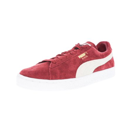 - Puma Men's Suede Classic Tibetan Red / White Ankle-High Fashion Sneaker - 13M