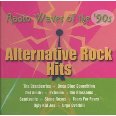 VARIOUS ARTISTS - RADIO WAVES OF THE '90S: ALTERNATIVE ROCK (Best Alternative Rock Artists)