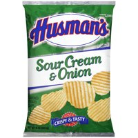 Husmans Sour Cream & Onion Potato Chips 10 oz