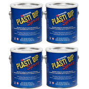 Plasti Dip Performix 10103S-4PK Black Spray - 1 Gallon