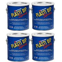 Plasti Dip Performix 10103S-4PK Black Spray - 1 Gallon
