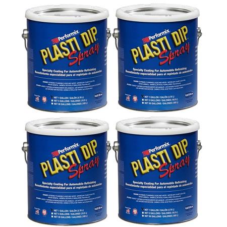Performix Plasti Dip 10101013S Gun Metal Gallon Rubber Spray 4