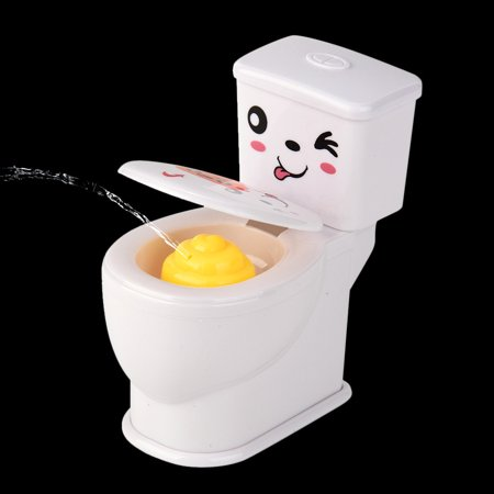 Mini Funny Prank Squirt Spray Water Toilet Closestool Joke Gag Toy Desktop Gift](Good Gag Gifts)