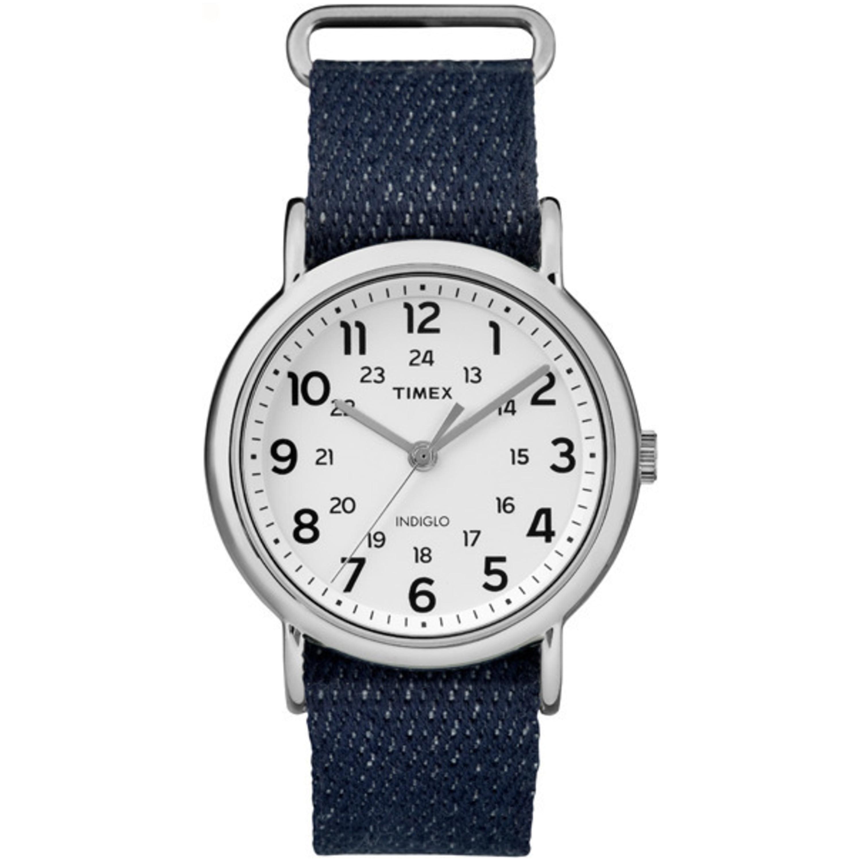 Timex  Unisex TW2R106009J Weekender Dark Blue Denim Slip-...