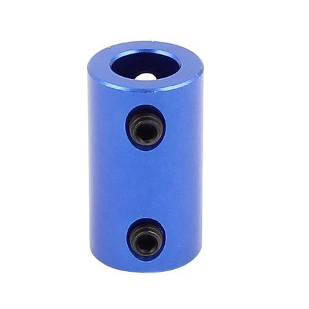 Unique Bargains 6.35mm to 8mm Aluminium Alloy DIY Motor Shaft Coupling Joint for Car - Motor Shaft Coupling