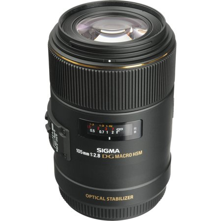 Sigma 105mm f/2.8 EX DG OS HSM Macro Lens (for Canon EOS