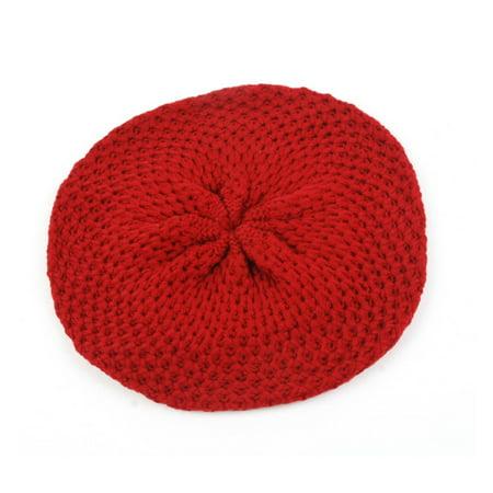 Women Fashion Knit Crochet Beret Hat 912HB
