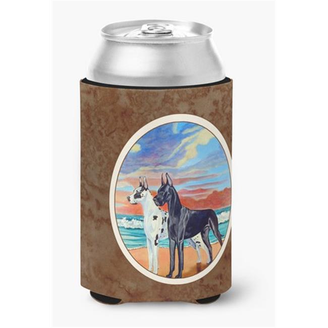 At sunset Great Dane Harlequin & Black Can or Bottle Hugger - image 1 de 1