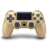 Coutlet PS4 Wireless Vibrate Game Controller Handle Dual Double Shock for PS4 8 Colors (Black)