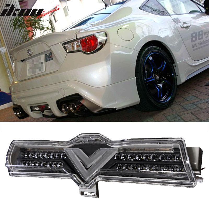 Fits 13-16 Scion FRS Subaru BRZ GT86 LED Smoke Len Brake Stop Light Rear Tail