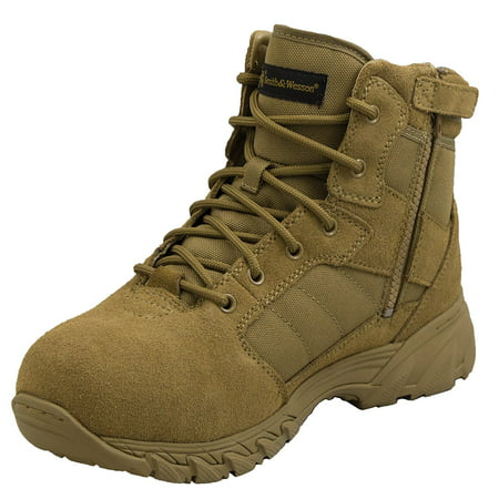 Smith & Wesson® Footwear Breach 2.0 Men's Tactical Side-Zip Boots - 6