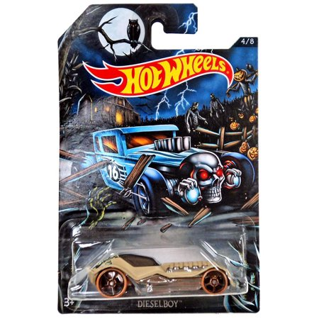 Hot Wheels Happy Halloween! Dieselboy Die-Cast Car](Halloween Remake Cast)