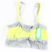 Honeydew NEW Green Cactus Gray Women's Size Small S Bralette Lace Bra