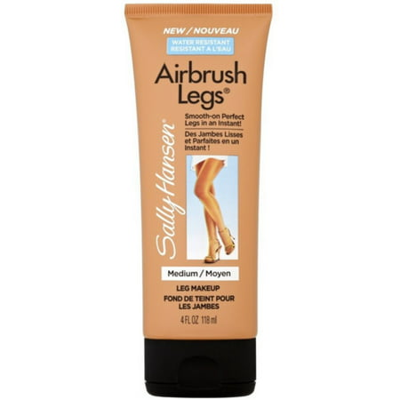 Sally Hansen Airbrush Legs Leg Makeup, Medium 4 oz (Pack of