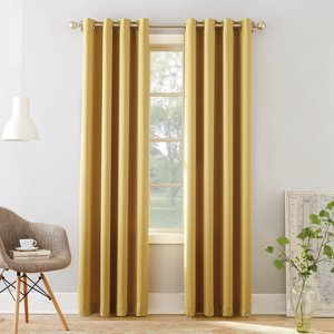 Sun Zero Madison Grommet Room Darkening Window Curtain Panel