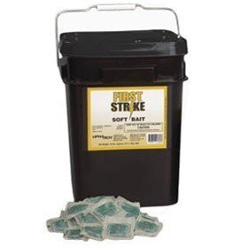 (First Strike Soft Bait RAT/MICE Rodenticide Poison - 16 LBS 6666325)