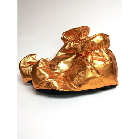 Genie Shoes In Gold - Male Genie Costume