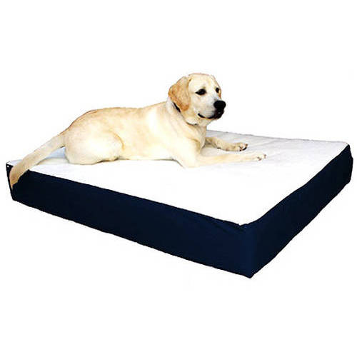 Large/Extra Large 34x48 Majestic Pet Orthopedic Double Pet Bed Removable Cover Multiple Colors