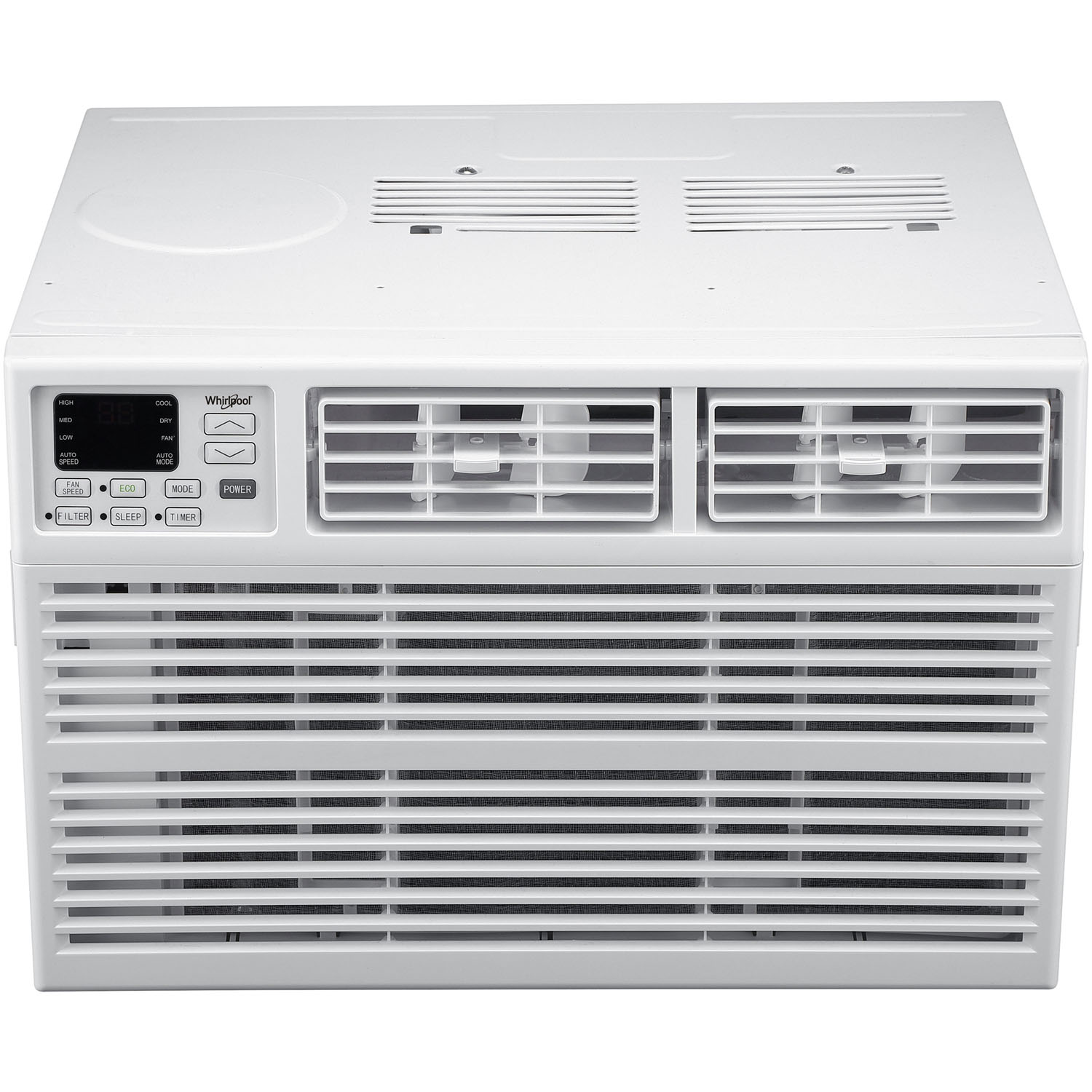 Whirlpool Energy Star 15,000 BTU 115V Window-Mounted Air Conditioner with Remote Control