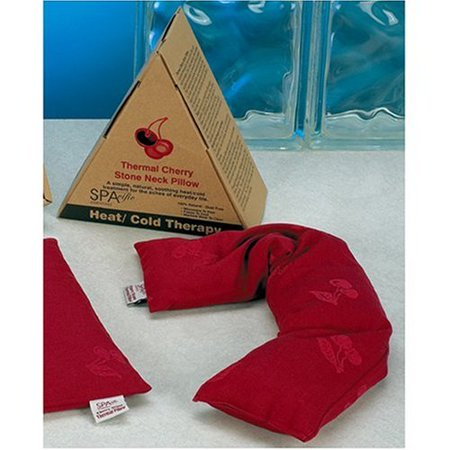 Hot and Cold Therapy Thermal Cherry Stone Neck Pillow Wrap, Use it hot or cold By Spacific