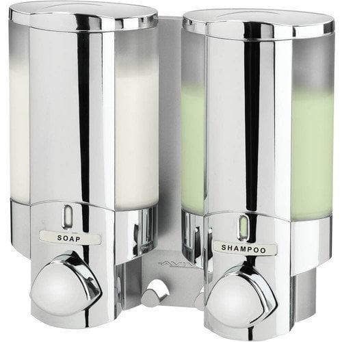 Better Living AVIVA Two Chamber Dispenser in Chrome - 76245