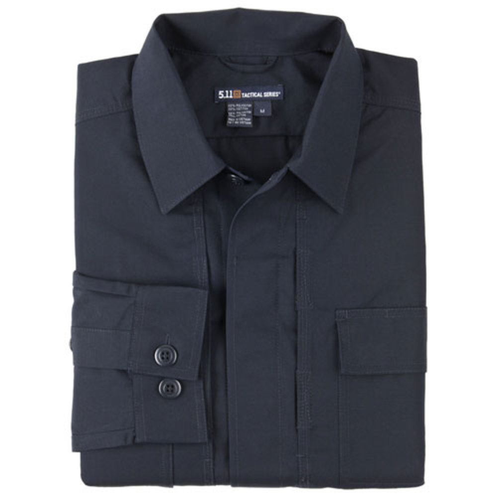5.11 Tactical TacLite TDU Long Sleeve Shirt, Dark Navy
