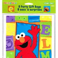 Sesame Street 'Elmo Loves You' Favor Bags (8ct)